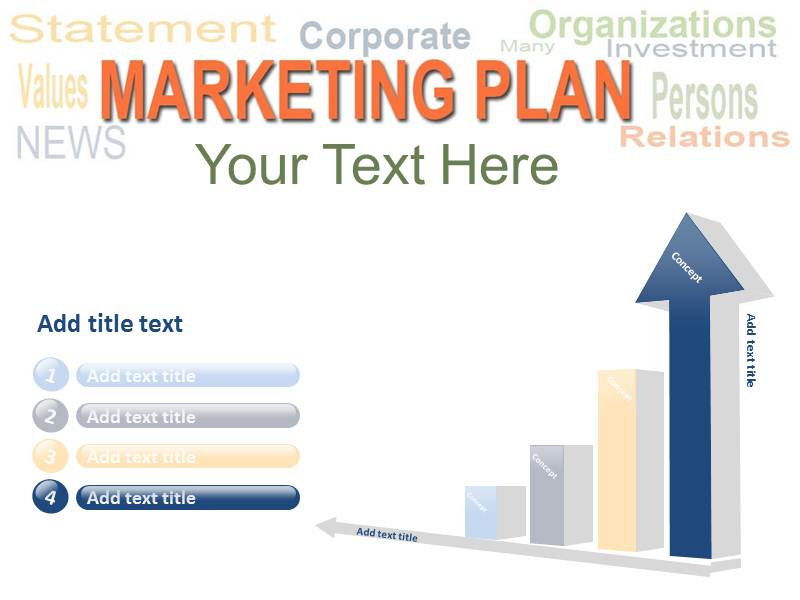 marketing plan templates powerpoint templates and backgrounds, Modern powerpoint