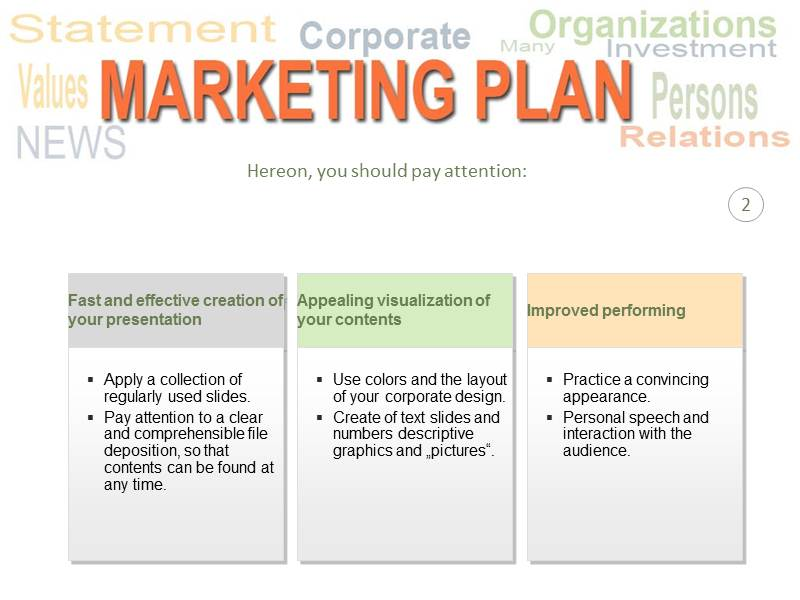 Marketing Plan Templates PowerPoint Templates and Backgrounds