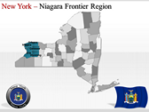New York Maps powerPoint templates