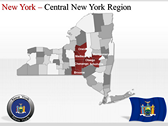 New York Maps powerpoint download