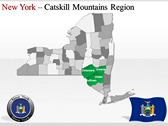 New York Maps power Point templates