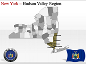 New York Maps powerPoint backgrounds