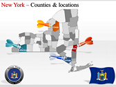 New York Maps power point download