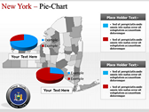 New York Maps power point background graphics
