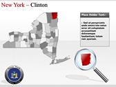 New York Maps powerpoint slides download