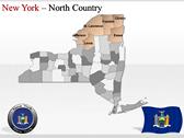 New York Maps powerpoint themedownload