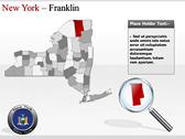 New York Maps powerpoint themetemplates
