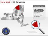 New York Maps powerpoint themeprofessional
