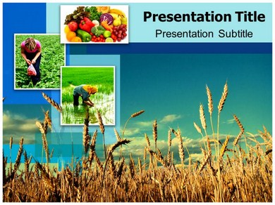 Agriculture Powerpoint Templates Backgrounds By Mark Henry