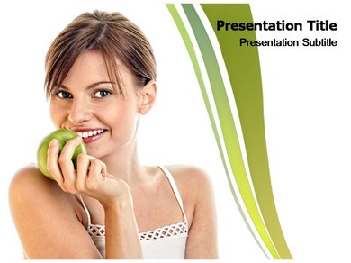 Healthy Food PPT Presentation Template