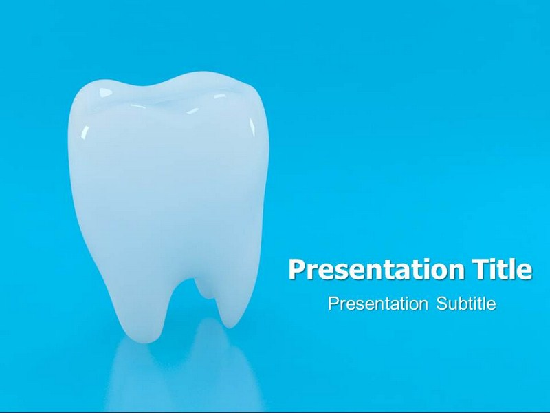 Animated Teeth Ppt Templates Teeth Backgrounds And Slides