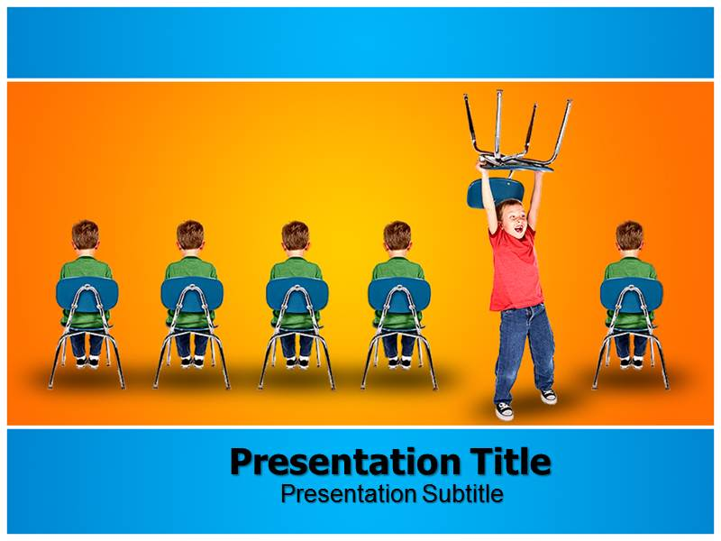 ADHD PowerPoint Templates and Backgrounds