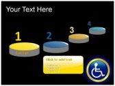 Reserved Handicapped Seat powerpoint template download