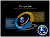 Reserved Handicapped Seat power Point templates
