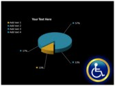 Reserved Handicapped Seat power point background graphics
