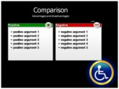 Reserved Handicapped Seat ppt backgrounds
