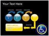 Reserved Handicapped Seat powerpoint themes download