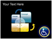 Reserved Handicapped Seat download powerpoint themes
