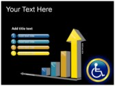 Reserved Handicapped Seat ppt themes template