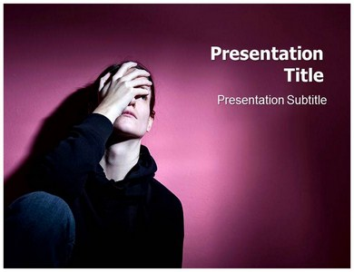 Depression Symptoms PowerPoint(PPT)Template, PPT Background Slides