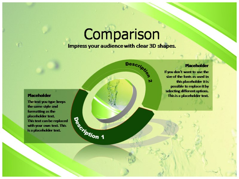interesting facts about water powerpoint templates and