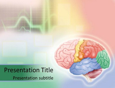Ecg and brain powerpoint templates and backgrounds ecg and brain ppt presentation template toneelgroepblik Gallery