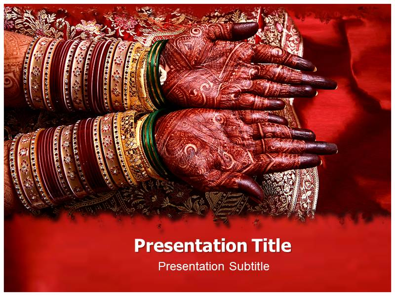 Indian Wedding Invitation Ppt Templates Free Download