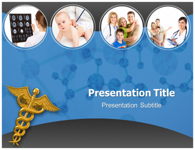 Doctor And Family Relationship PPT Presentation Template