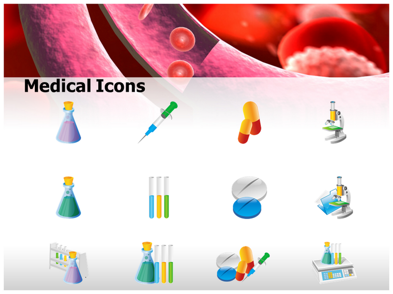 Floating Blood Cells PowerPoint Templates, Presentation and ...
