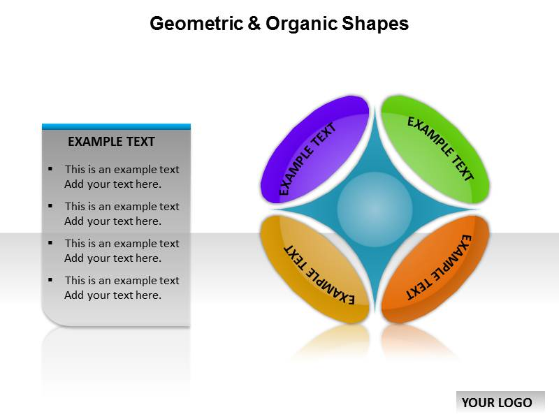 Geometric organic shapes templates for powerpoint geometric download toneelgroepblik Gallery