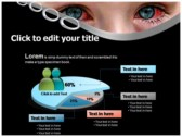Ophthalmia powerPoint background