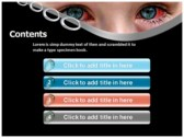 Ophthalmia powerpoint theme download