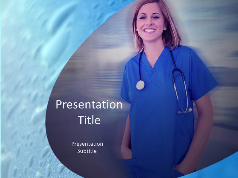 Nurse ppt templates ppt presentation backgrounds for power point download toneelgroepblik Choice Image
