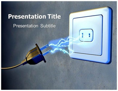 Electricity PPT Presentation Template