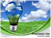 Bio Energy powerPoint template