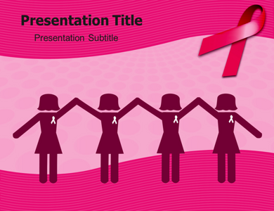 breast cancer pictures powerpoint templates and backgrounds, Modern powerpoint