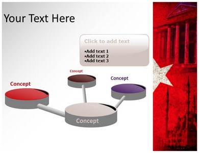 Turkey powerpoint template 05212