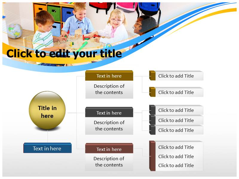 Kindergarten Calendar Powerpoint : Preschool powerpoint templates and backgrounds
