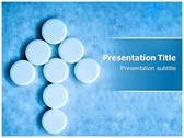 Drug powerPoint template