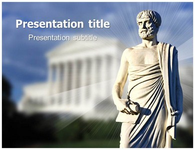Aristotle greek philosopher templates background of scientist aristotle ppt presentation template toneelgroepblik Image collections