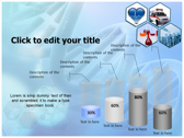 Medical Science and Technology power point background templates