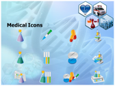 Medical Science and Technology powerpoint theme professional