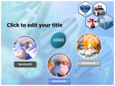 Medical Science and Technology download powerpoint themes