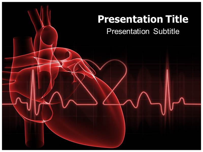 cardiovascular powerpoint template free - blog archives graphicsfilecloud
