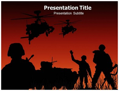 Abstract of army soldiers powerpoint templates background of army abstract ppt presentation template toneelgroepblik Gallery