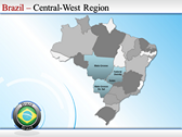 Map of Brazil powerpoint download