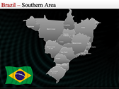 Map of Brazil power point download