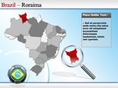 Map of Brazil powerpoint slides download