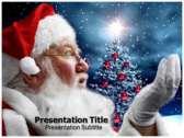 santa claus powerPoint template