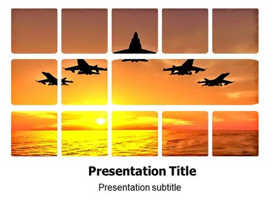 air force (ppt)powerpoint template | air force templates | air, Modern powerpoint